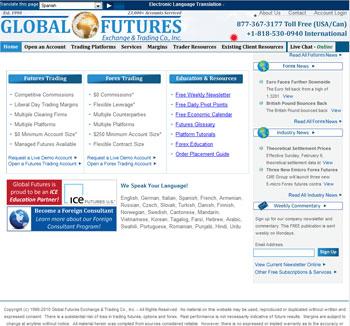 Global Futures Reviews