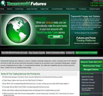Futures broker review